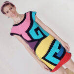 Knit 'A Maze In Dress' … Funky Free Pattern Designed By Veronica Mas