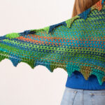 Christmas In July … Knit A Harlequin Shawl Designed By Catherine Salter Bayar