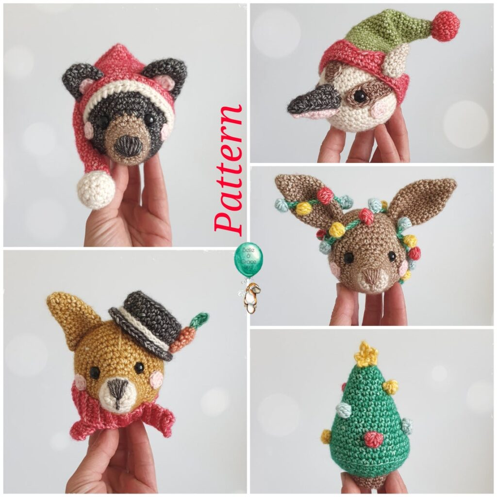 Christmas In July ... Festive Gnomes, Holiday Bauble Head Amigurumi and a 3D Stocking Too!