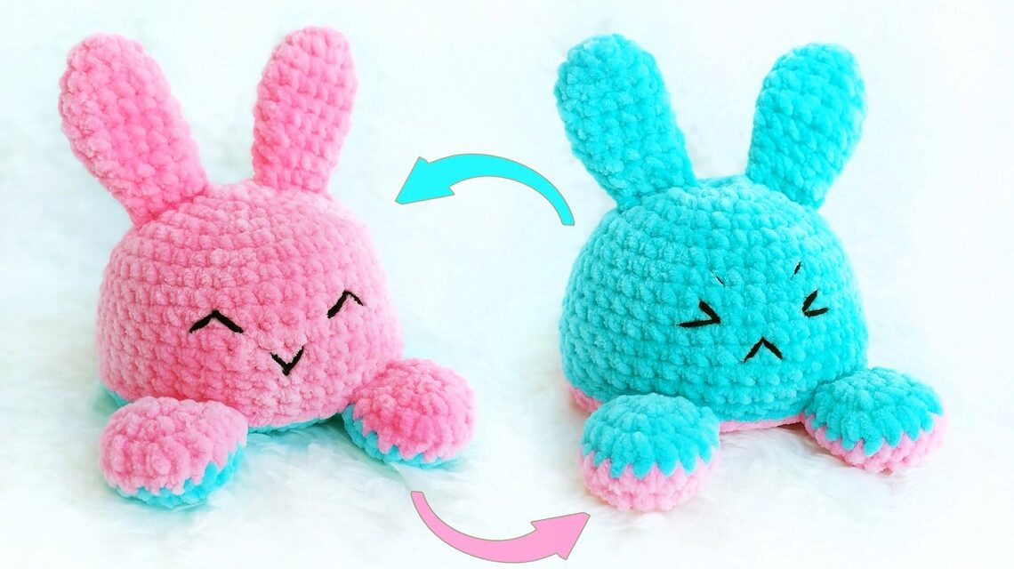 Christmas In July … Crochet a Reversible Bunny Amigurumi, It's Magic!