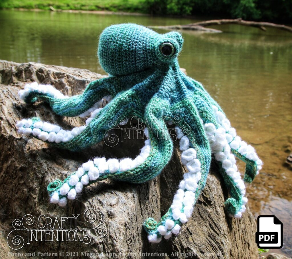 This Realistic Octopus Pattern by Crafty Intentions Will Blow Your Mind!