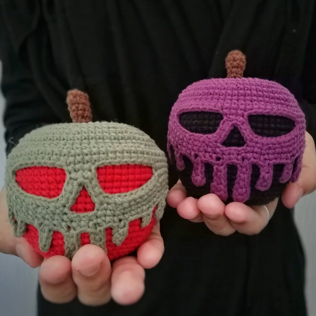 We Interrupt Christmas In July To Bring You A Perfect Poisoned Apple Pattern For Crocheters