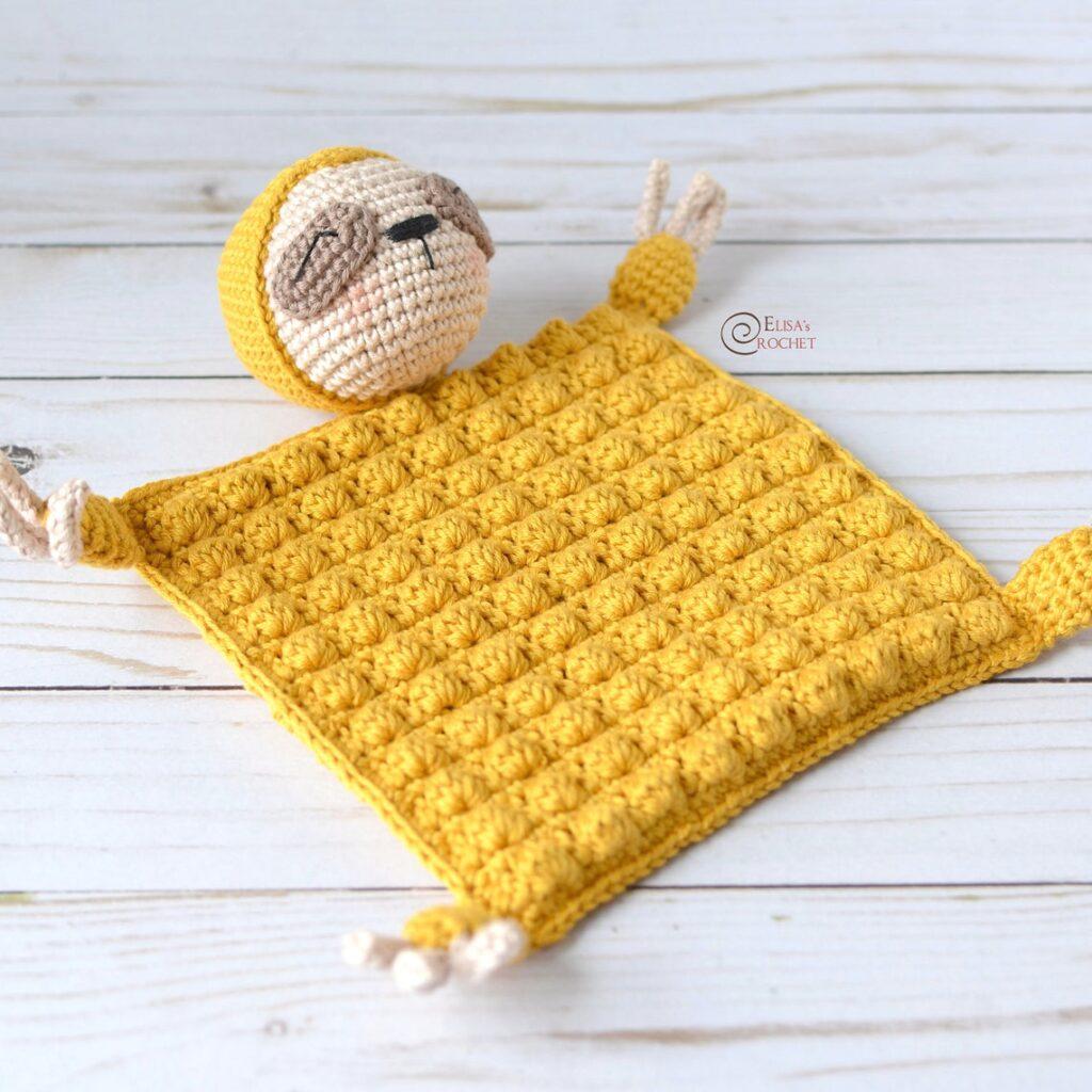 Crochet An Adorable Sloth Blanket ... So Cute!
