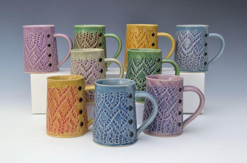 mugs for yarn lovers