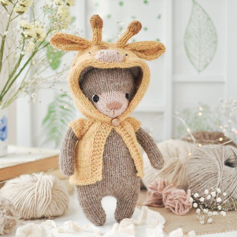 Christmas patterns designed by of Ekaterina Popova of Lovely Knit Creation