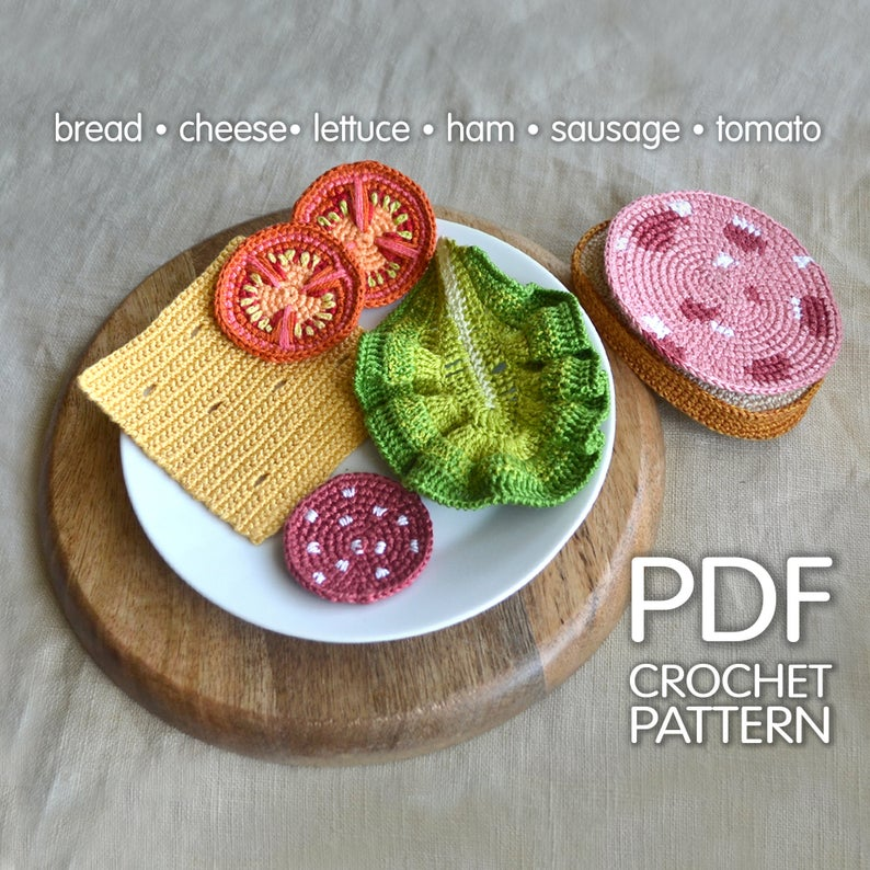 Christmas In July ... Realistic Play Food Patterns For Endless Make Believe & Yummy Fun!