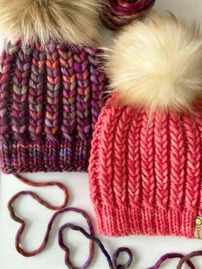 knitting patterns designed by Jill DeMarco of Yarn It All By Jill #knitting