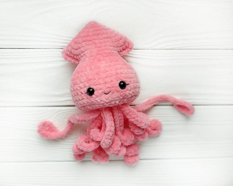 crochet patterns designed by Marina of PlushiCo #crochet
