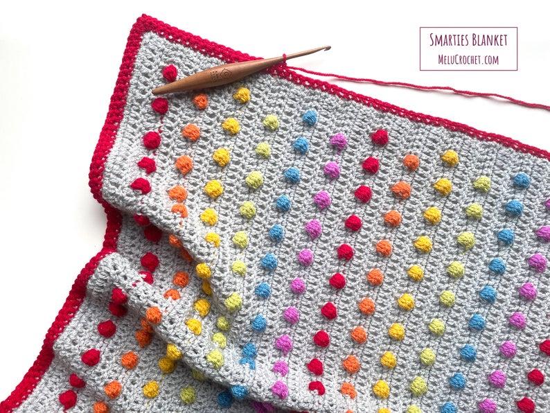 Rainbow Patterns Designed By Melu Crochet #crochet