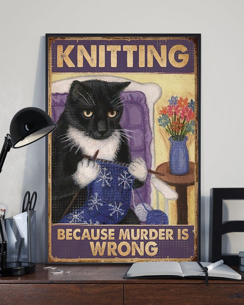 Christmas In July ... No Time For Crafting? These Prints Make The Perfect Gift For Knitters On Your List!