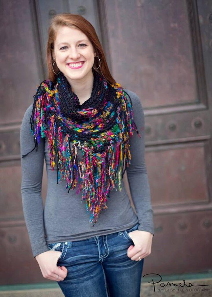 crochet pattern designed by Alessandra Hayden #crochet