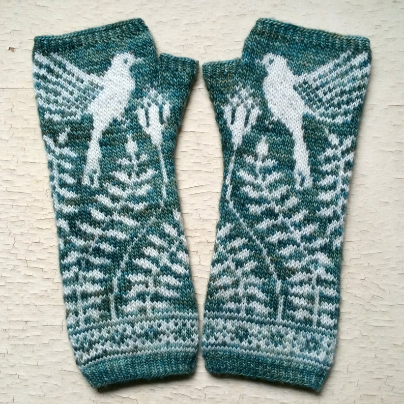 knitting patterns designed by Erica Heusser