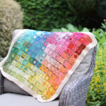 Christmas In July … Crochet A Watercolor Granny Blanket, Pattern Designed By Christina Hadderingh
