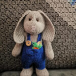 Christmas In July … Knit A Cute Gardening Bunny, Pattern By All Things Knitty