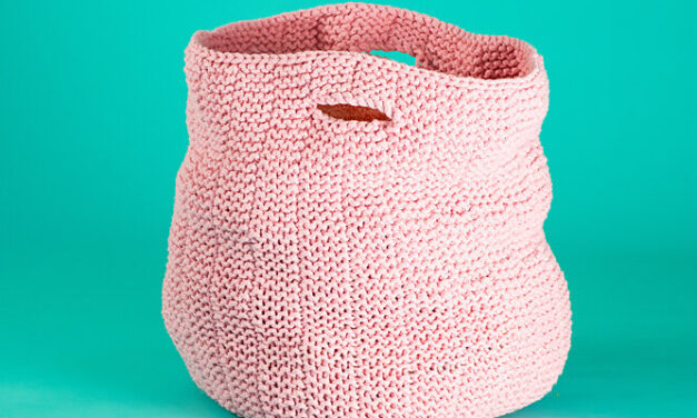 Christmas In July … Knit a Set Of Benita Nesting Baskets, Free Pattern From Paintbox Yarns