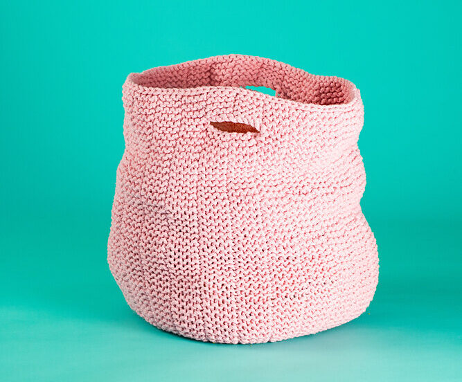 Christmas In July ... Knit a Set Of Benita Nesting Baskets, Free Pattern From Paintbox Yarns
