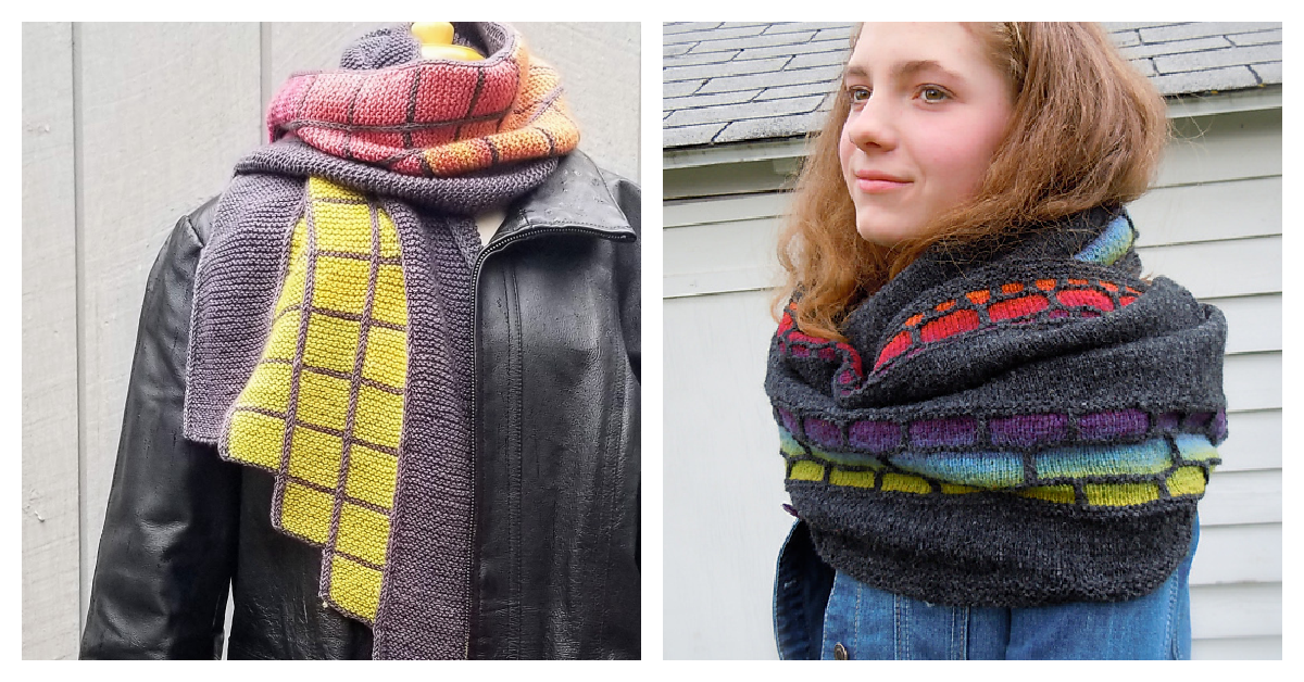 Two Stunning Scarf Projects To Cast On and Knit For The Cooler Days Ahead
