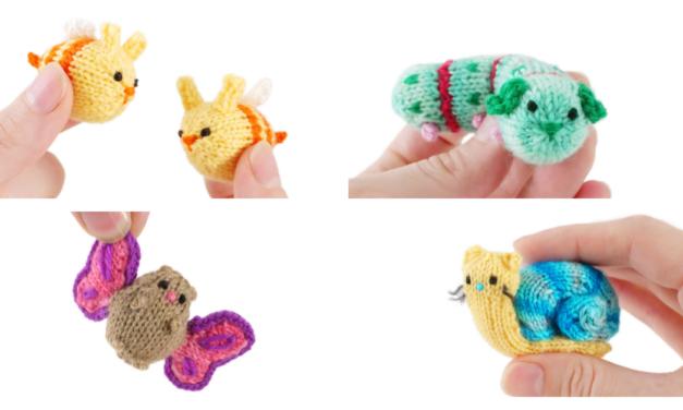 Must-Knit Amigurumi Mash-Ups! Make a Doggerpillar, Hamsterfly, Snitten, Bunnybee … Designed By Anna Hrachovec of Mochimochi Land, Who Else?