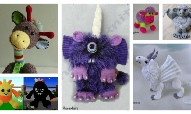 Designer Spotlight: Unique, Colorful and Quirky Knit Patterns By Sandy Of Phoenix Knits!