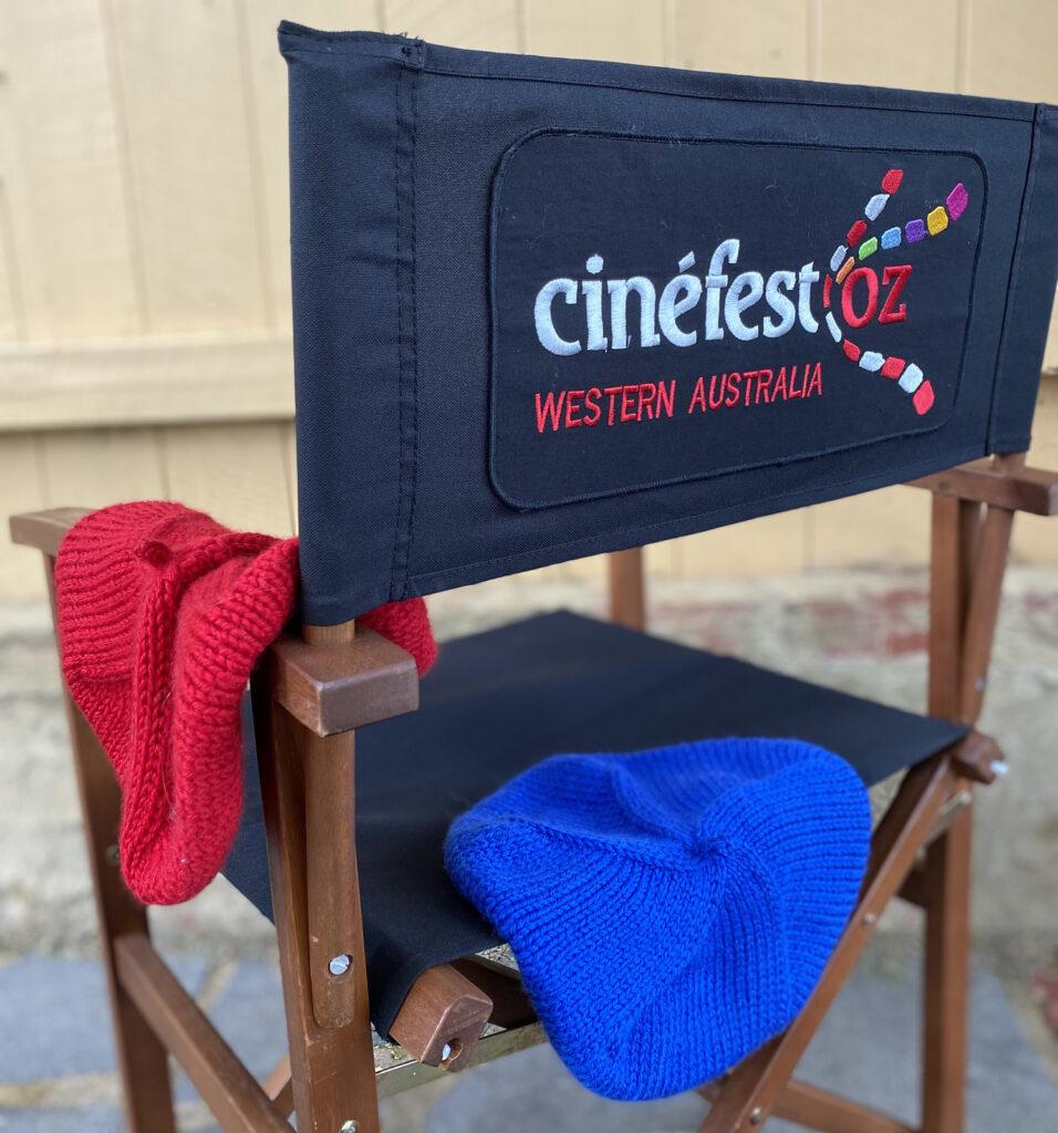 Knit a CinefestOZ Film Festival Beret For Your Favorite Cinephile! #cinefestberet