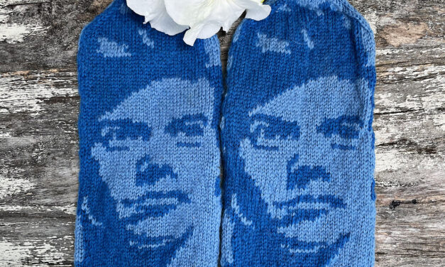 Knit a Pair of Harry Styles Mittens, Awesome Design By Lotta Lundin