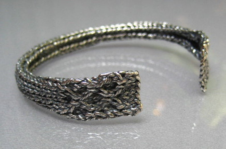 No Time To Make A Gift? Any Knitter On Your List Will Adore These One-Of-A-Kind Silver Jewelry Pieces