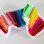 Knit A Rainbow Strip Wall Hanging … Learn Frankie Brown's Color Pop Technique!