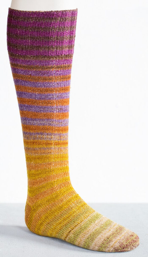 Knit a Pair of Mahalle Top Down Socks To Go With This Sweater Weather ...