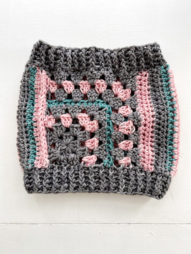 Crochet A Mod Cowl With A New Pattern From Vickie Howell ... Now This Is Unique!