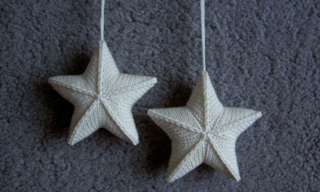 Hanging Star Stashbuster … FREE Pattern Alert! Cast On 'Stjärna' Designed By Karolina Eckerdal