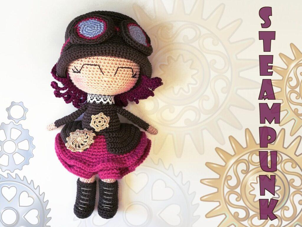 amigurumi patterns designed by Blahó Zsuzsanna of Poppy Crochet Design