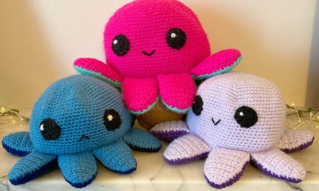 Crochet A Reversible Octopus Amigurumi With This Pattern From Scubabella Crafts