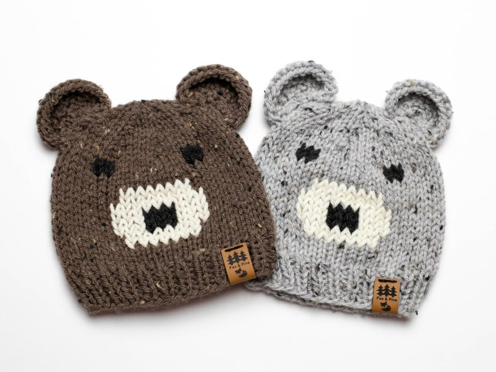 Happy National Teddy Bear Day! Here's An Adorable Bear Beanie You Can Knit To Mark The Day!