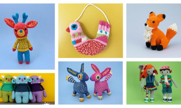 Designer Spotlight: Unique Amigurumi & Small Creature Designs By Kate McCully of Make Me Roar