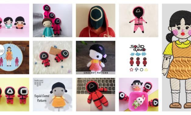 Designer Spotlight: Squid Game Pattern Round-Up