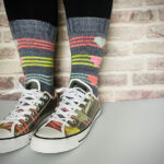 Knit a Pair Of Boombox Socks … This Pattern Is A Little Love Letter To The 80s