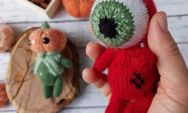 Knit An Evil Eye Protection Amigurumi