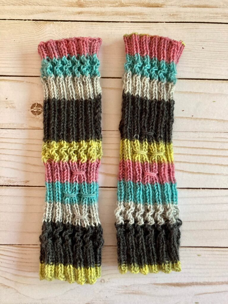 It's The Right Time To Cast On Your New Spellcaster Fingerless Mitts