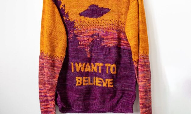 The Truth Is Out There … X-Files Fans, I Want To Believe That You'll Knit This Sweater!