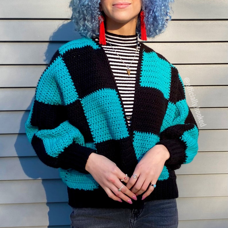 crochet patterns designed by Ariana of Officially Hooked Shop #crochet